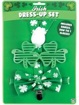 Adult 3 Pc Irish St Patrick's Day Dress-Up Kit