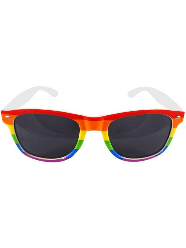 Adult Dark Lens Pride Glasses