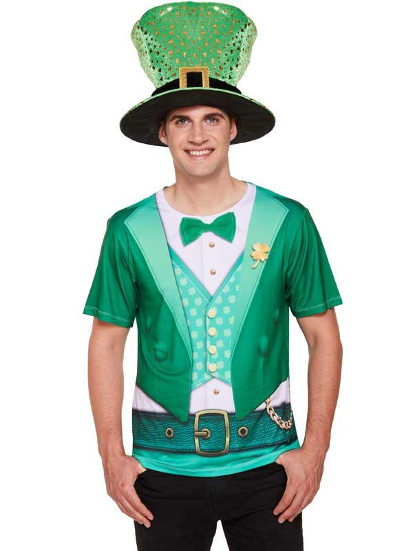 Adult Mens Lucky Irish Shirt Thumbnail 1