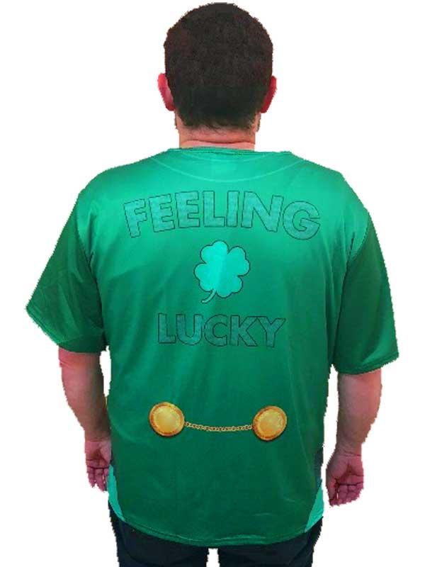 Adult Mens Lucky Irish Shirt Thumbnail 2