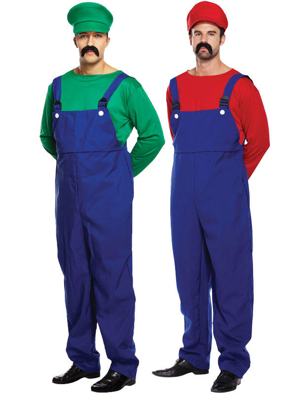 Adult Mens Super Workman Costume Thumbnail 1