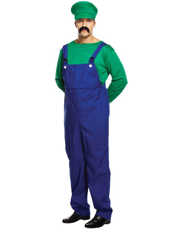 Adult Mens Super Workman Costume Thumbnail 2