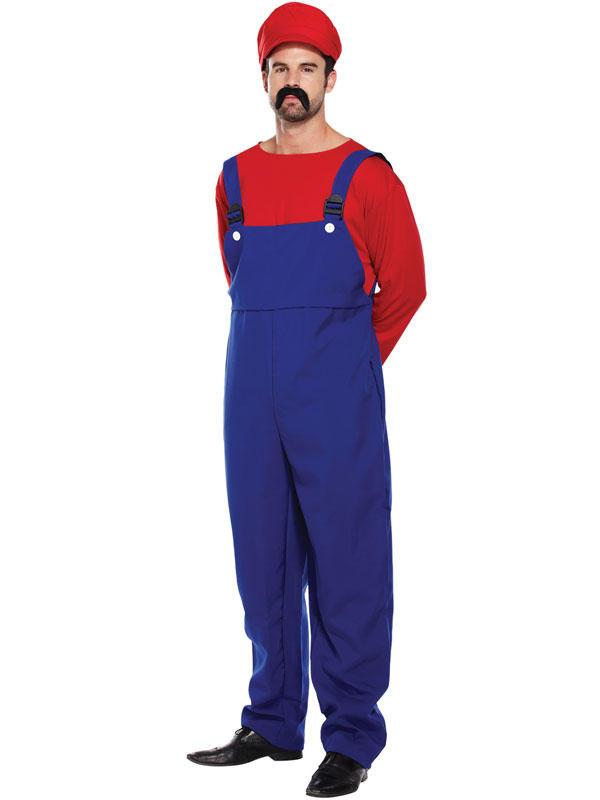 Adult Mens Super Workman Costume Thumbnail 3
