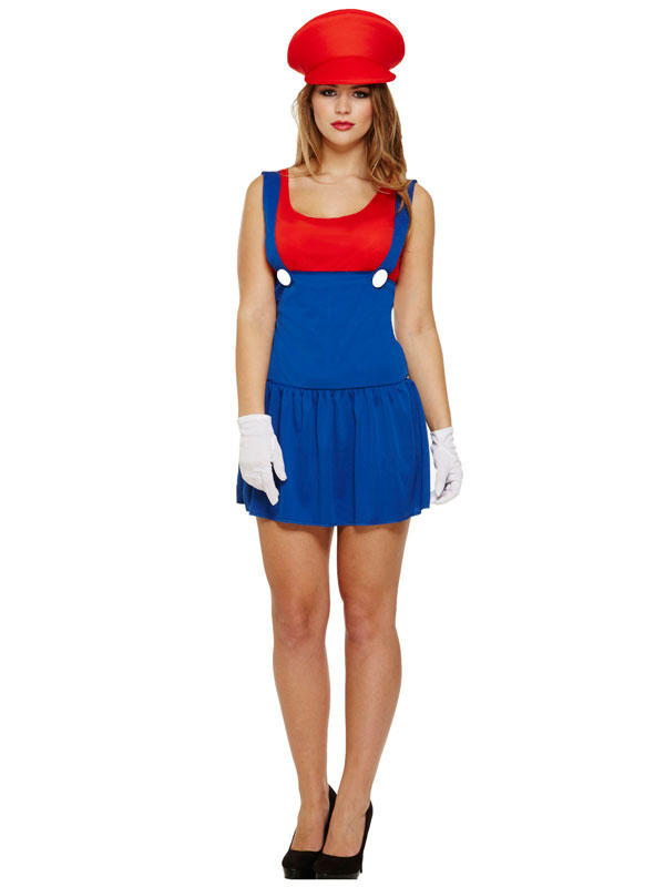 Adult Ladies Super Workwoman Costume Thumbnail 3