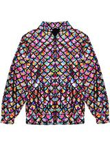 Adult Scale Rainbow Holographic Jacket