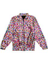 Adult Rainbow Hollographic Jacket