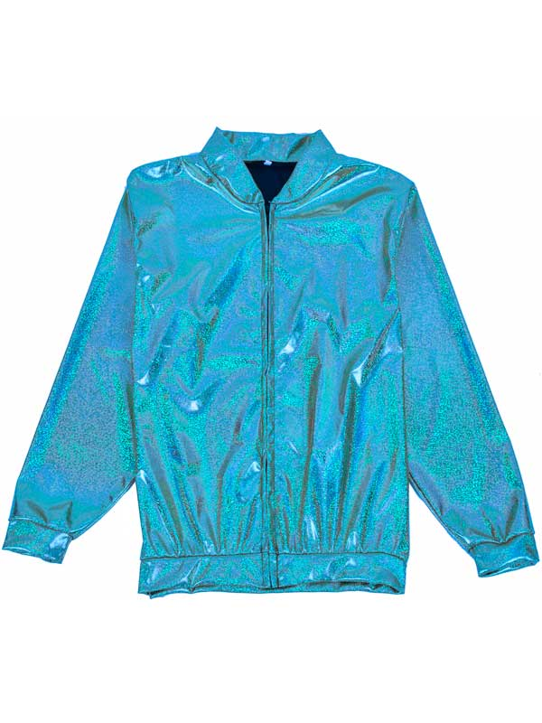 Adult Turquoise Hollographic Jacket