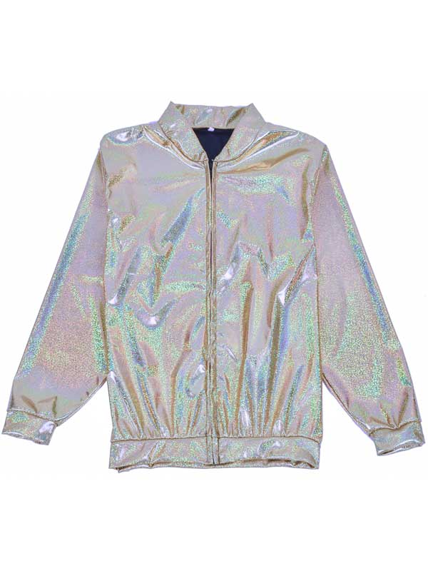 Adult Silver Hollographic Jacket
