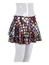 Adult Ladies Skirt - Scale Rainbow