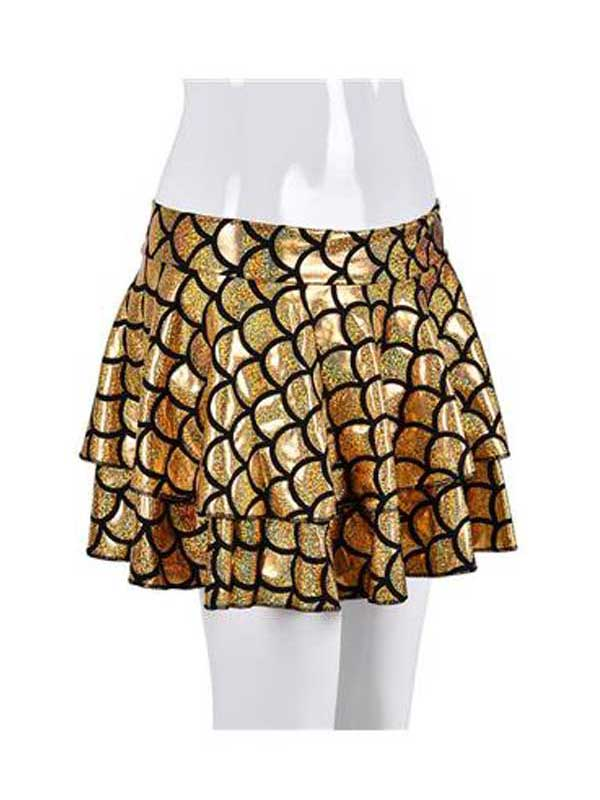 Adult Ladies Skirt - Scale Gold