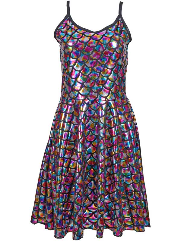 Adult Ladies Dress - Scale Rainbow | 1960\'s & 1970\'s | Plymouth ...