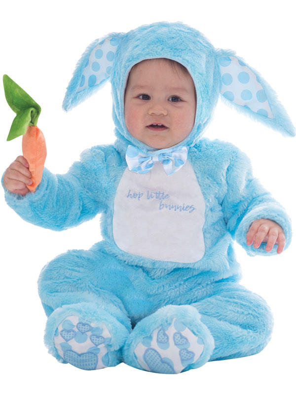 Child Boys Blue Little Wabbit Costume