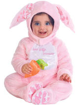 Child Girls Pink Little Wabbit Costume