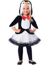 Child Girls Penguin Costume Dress