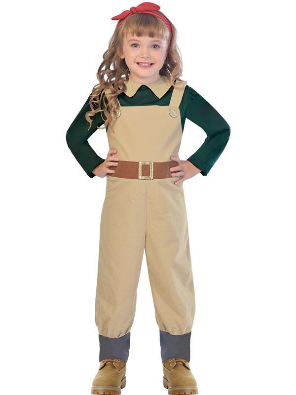 Child Wartime Landgirl Costume
