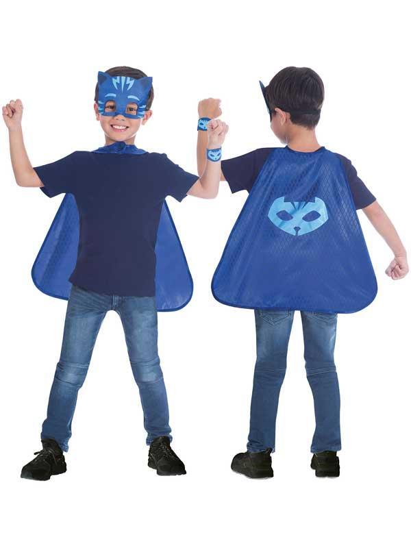 Child Catboy Cape & Mask Set