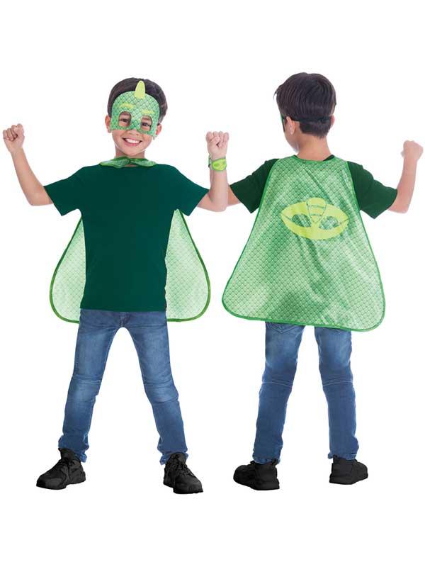 Child Gekko Cape & Mask Set
