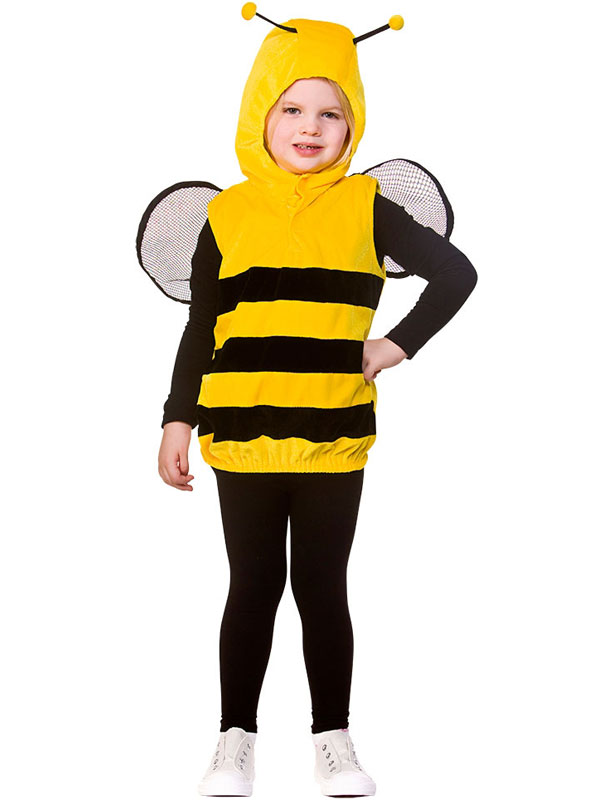 Boys Girls Bumblebee Bee Bug Book Day Week Fancy Dress Costume Outfit