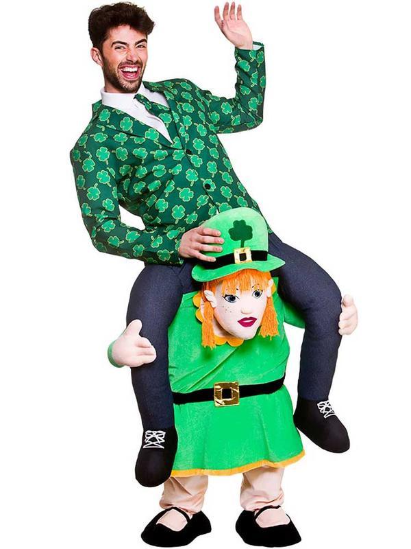 Adult Carry Me Leprechaun Lass