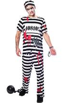 Adult Mens Zombie Convict Costume