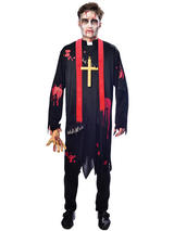 Adult Mens Zombie Vicar Costume