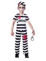 Child Boys Zombie Convict Costume