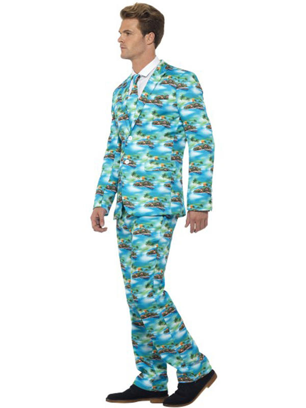 Adult Mens Stand Out Aloha Suit Thumbnail 2