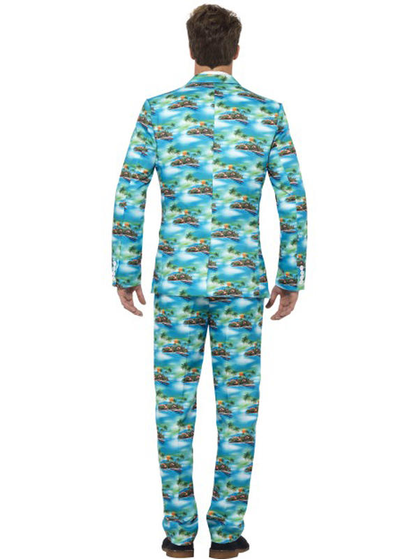 Adult Mens Stand Out Aloha Suit Thumbnail 3