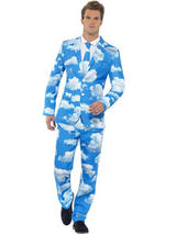 Adult Mens Stand Out Sky High Suit