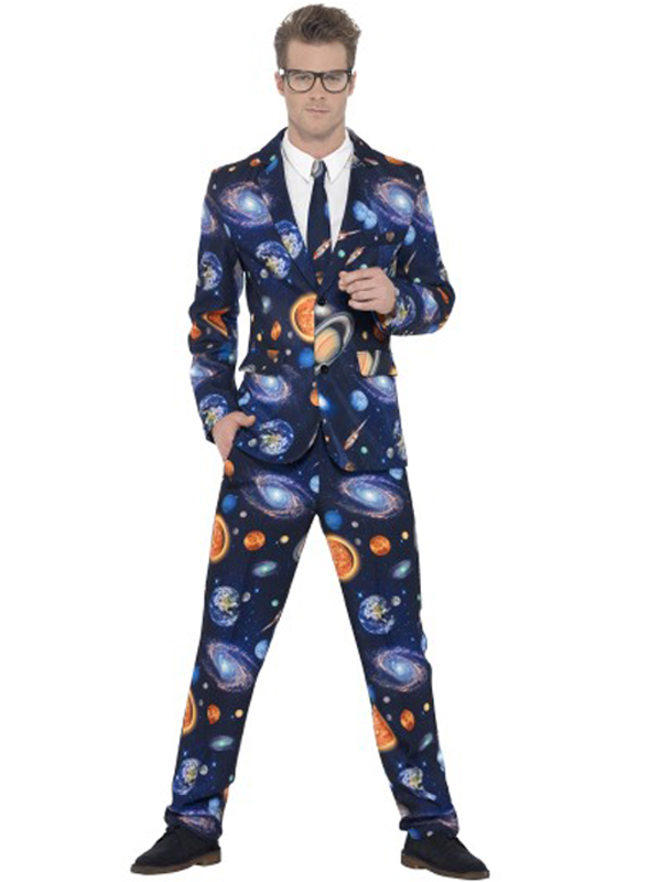 Adult Mens Stand Out Space Suit