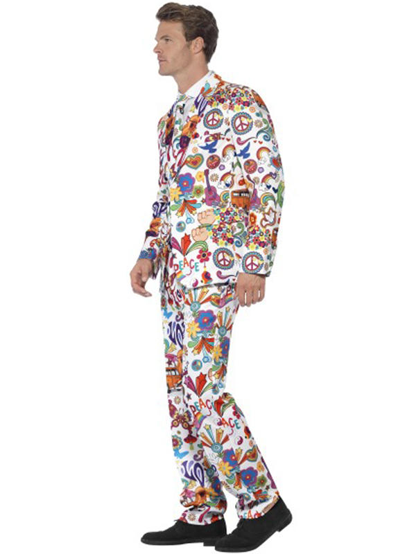 Adult Mens Stand Out Groovy Suit Costume Thumbnail 2