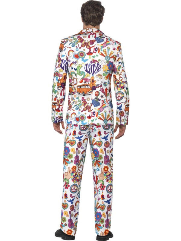 Adult Mens Stand Out Groovy Suit Costume Thumbnail 3