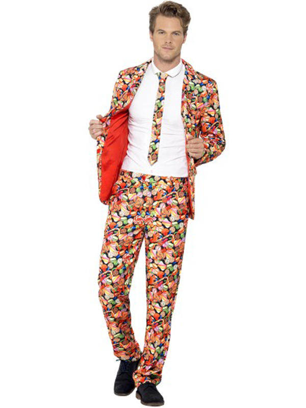 Adult Mens Stand Out Sweet Suit Costume Thumbnail 1
