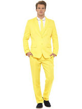 Adult Mens Stand Out Yellow Suit Costume