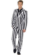 Adult Mens Stand Out Humbug Suit Costume