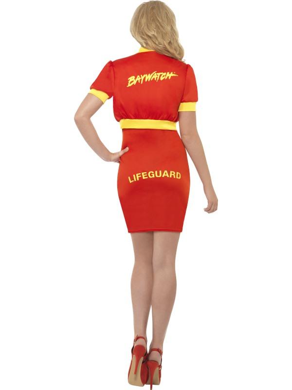 ladies baywatch lifeguard costume  1980's  1990's