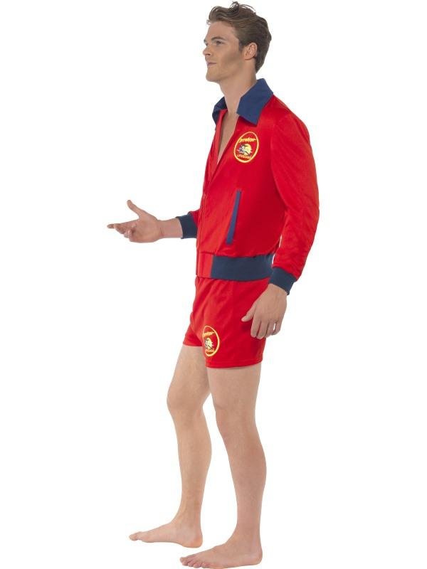 Mens Baywatch Lifeguard Costume Thumbnail 2