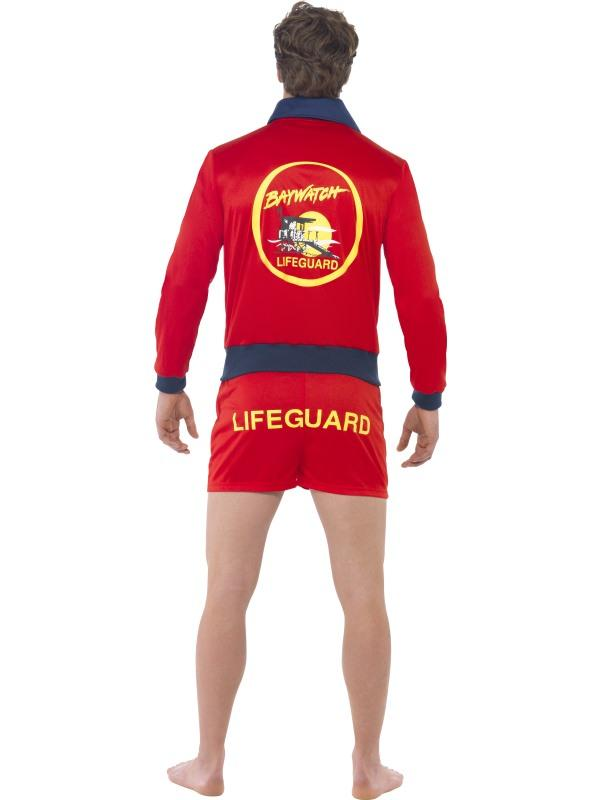 Mens Baywatch Lifeguard Costume Thumbnail 3