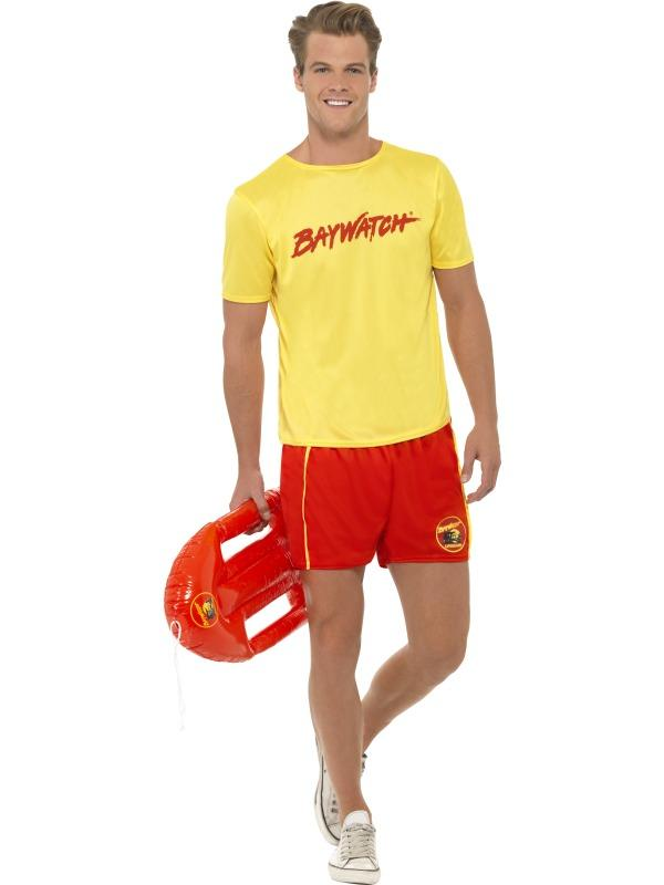 Mens Baywatch Beach Costume Thumbnail 1