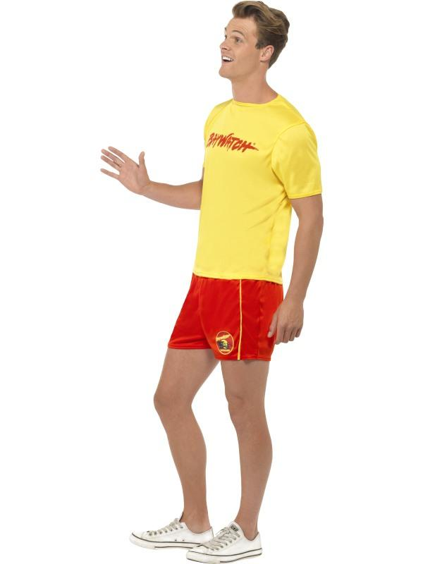 Mens Baywatch Beach Costume Thumbnail 2