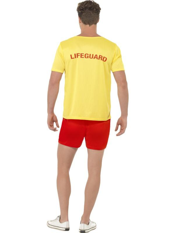 Mens Baywatch Beach Costume Thumbnail 3
