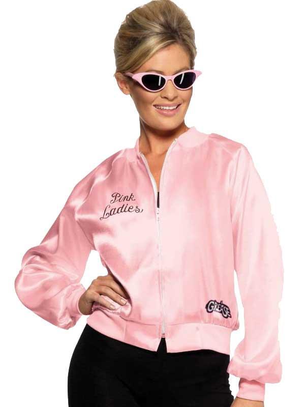 Adult GREASE Pink Ladies Jacket Thumbnail 1