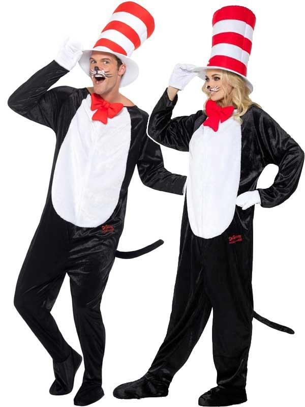 Adult Dr Seuss Cat In The Hat Costume Thumbnail 1