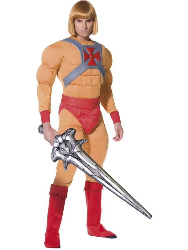 Mens He Man Prince Adam Costume