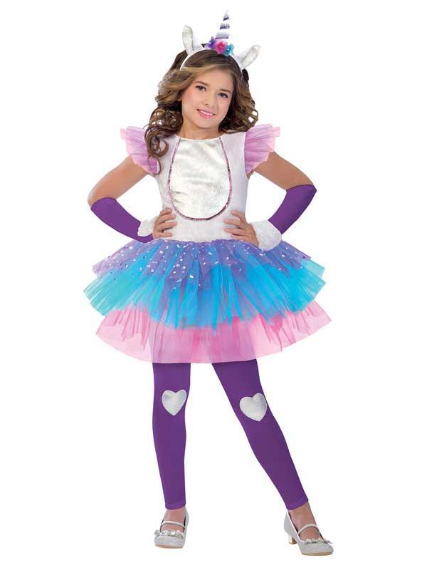 Girls Magical Unicorn Costume
