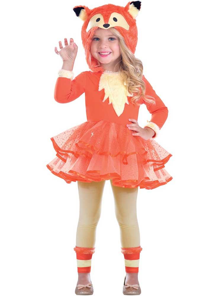 Girls Fox Costume