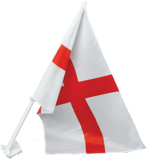 St. George Car Flag