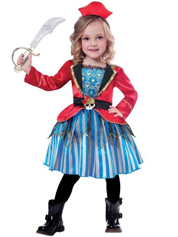 Child Girls Anchor Cutie Costume