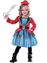 Child Girls Anchor Cutie Costume