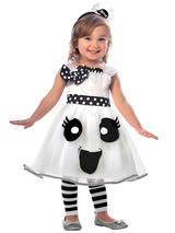 Child Girls Cutie Ghost Costume Dress